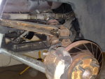 TVR suspension before restoration by TaylorTVR